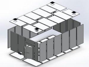 Anechoic Chamber 客製化經濟型暗室